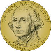 Washington Dollar obverse